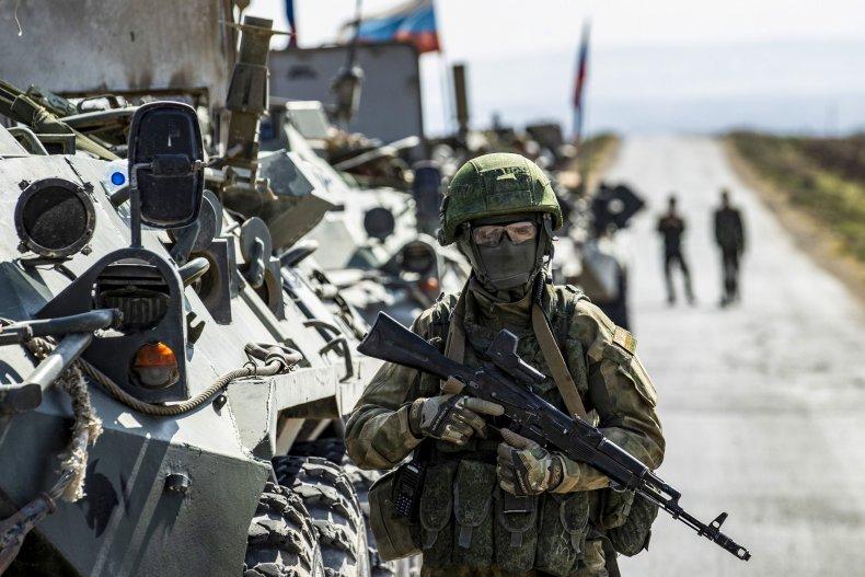russia, military, hasakah, syria, convoy