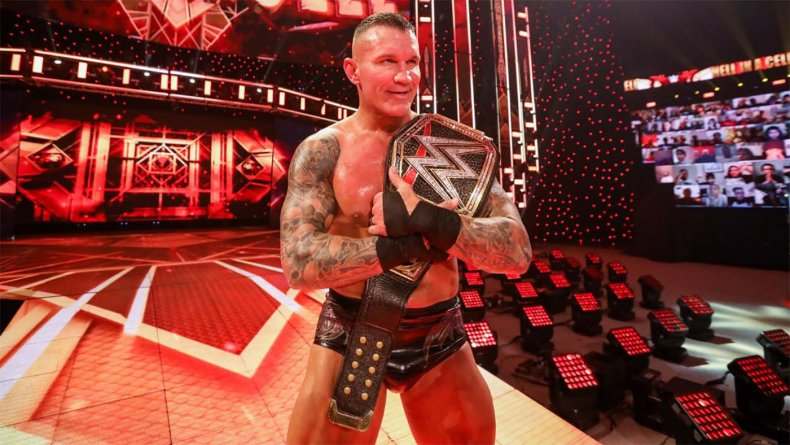 wwe hell in a cell randy orton