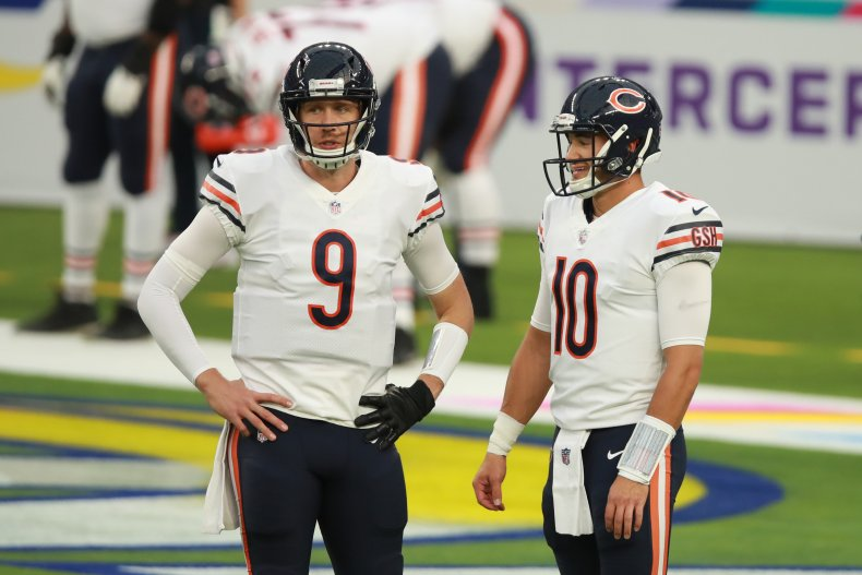 Nick Foles, Chicago Bears, Mitchell Trubisky