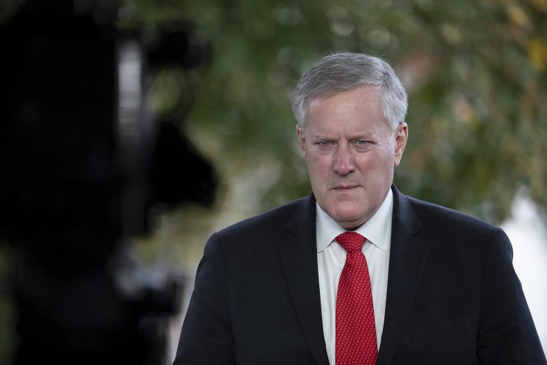 mark meadows, white house chief of staff,getty