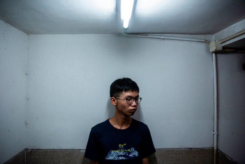 Hong Kong Student Activist Tony Chung