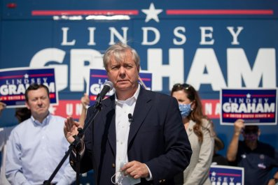 Senator Lindsey Graham Addresses Supporters