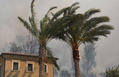 wildfire california wind