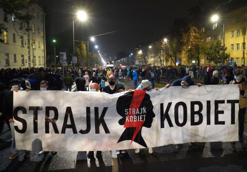 Poland abortion protests