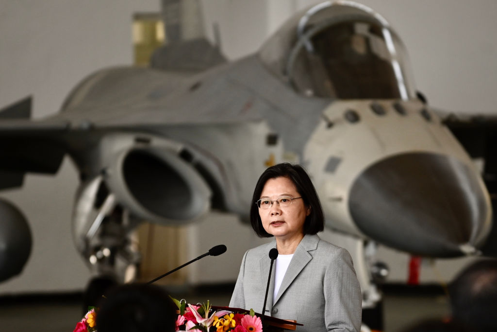 """It means war"": China state media warns Taiwan against warplane action"