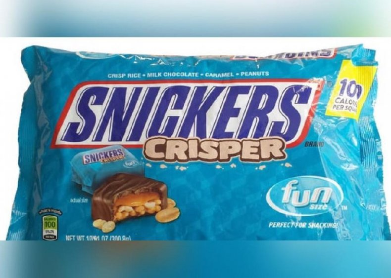 #23. Snickers Crisper