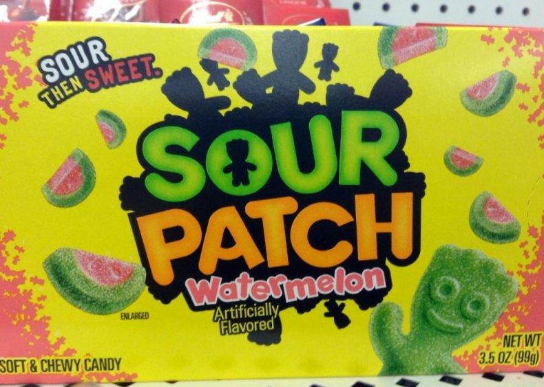 #22. Sour Patch Kids