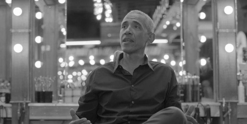 Watch Barack Obama on 'The Shop'