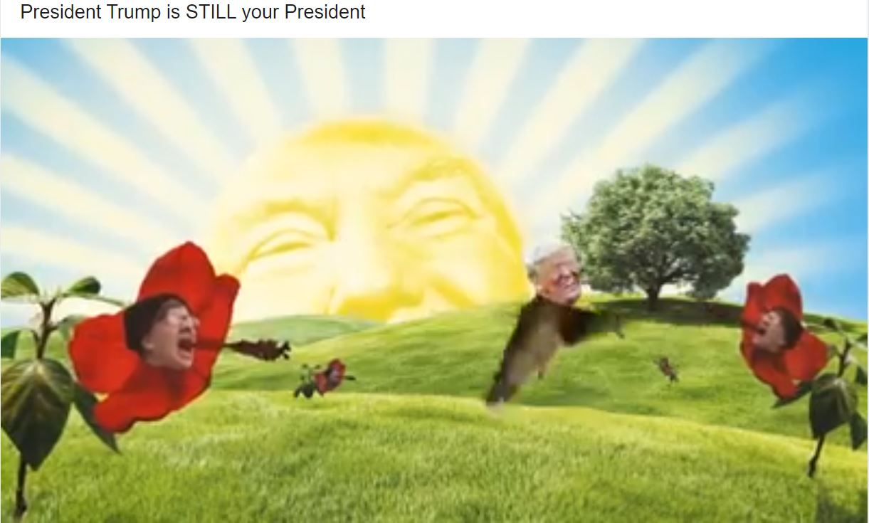 """Trump runs campaign ad showing """"morning after"""" election victory: """"Still your president"""""""