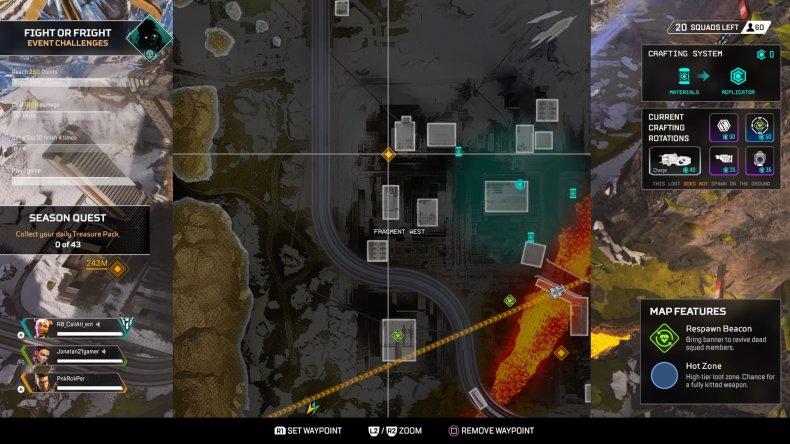 apex gravity lift locations fragment 2 map