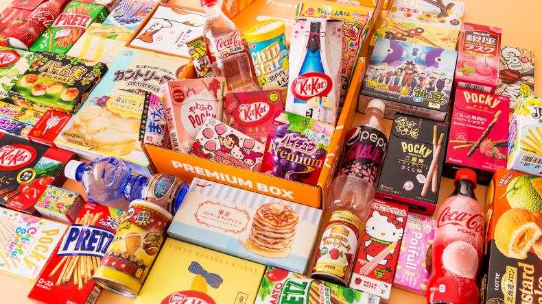 Popular snacks with a Japanese twist