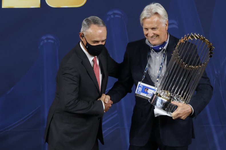 Rob Manfred, MLB