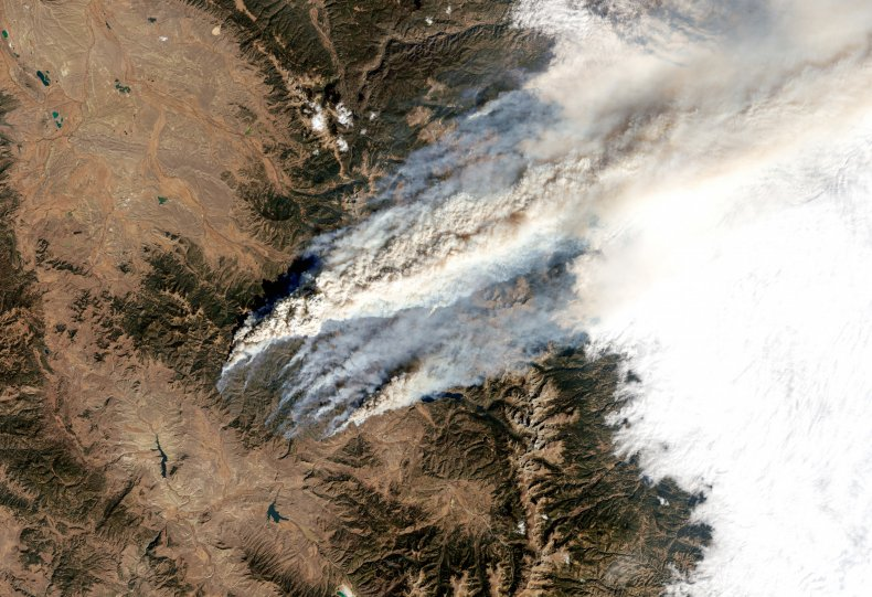 East Troublesome Fire, Colorado, October 2020