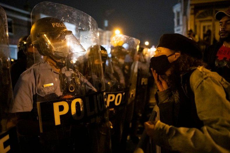 Philadelphia Protester Police ClashesWalter Wallace