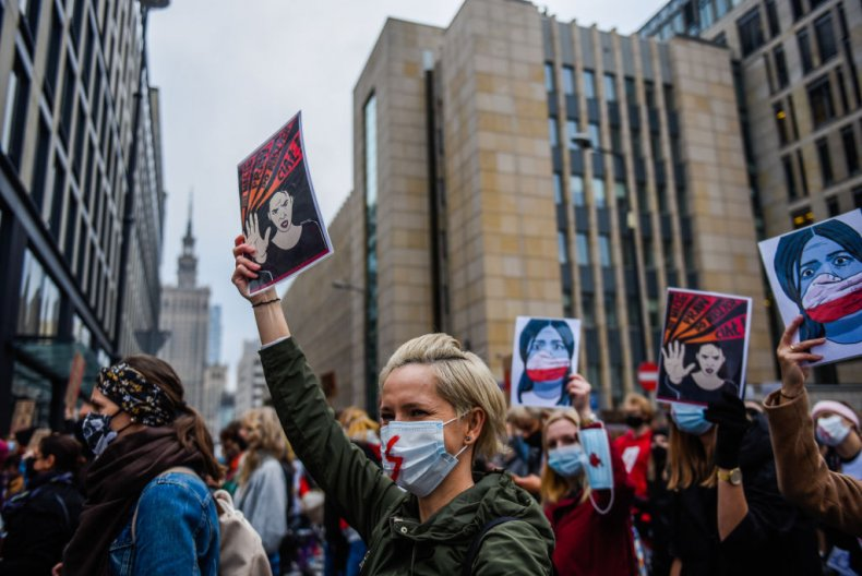 Poland national strike against abortion court ruling