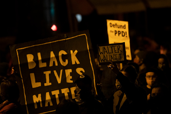 With days to the election, support for Black Lives Matter has dropped 14 percent since protests peaked after George Floyd's death