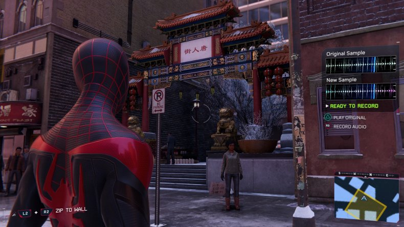 miles morales sound sample location chinatown
