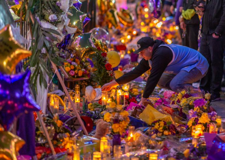Jan. 28: Kobe Bryant memorial