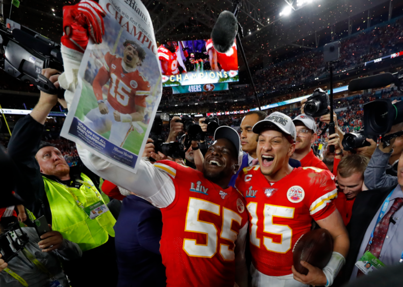 Feb. 2: Super Bowl LIV