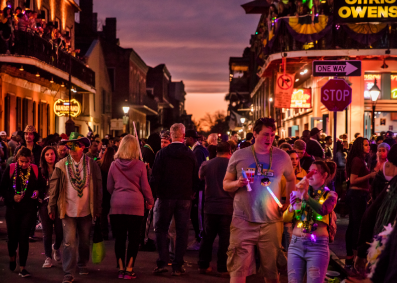 Feb. 25: Mardi Gras in New Orleans
