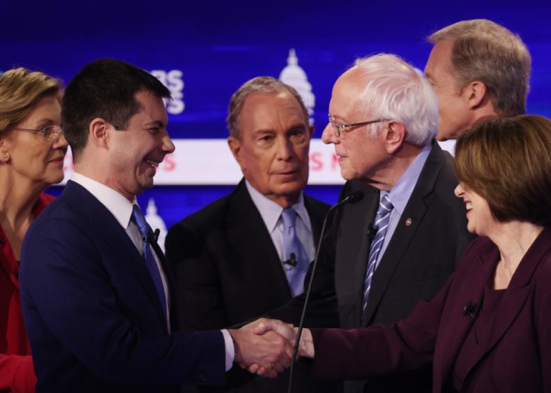 Feb. 25: Democratic primary debates