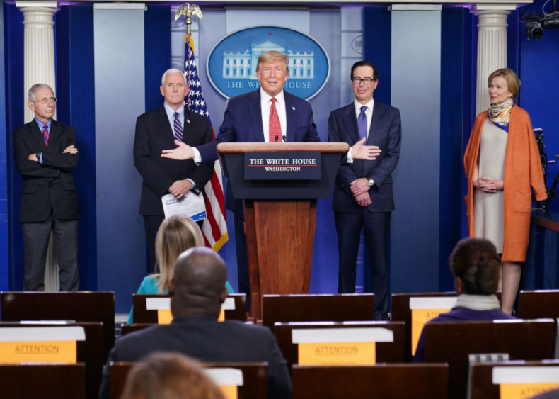 March 25: Daily briefings from the White House Coronavirus Task Force