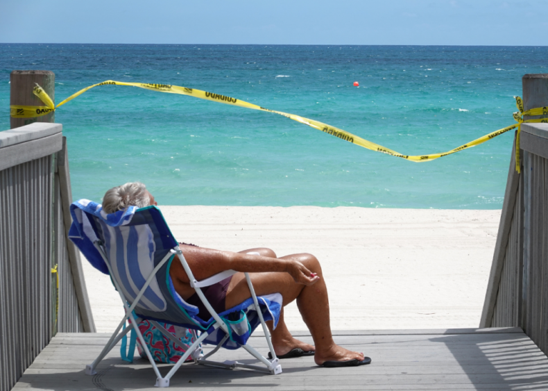 March 31: Beaches closed in Florida
