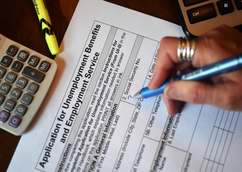 April 16: Filing for unemployment