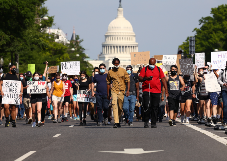 June 3: Black Lives Matters marches across the country
