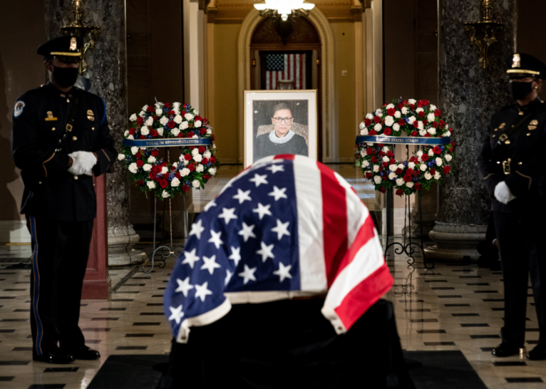 Sept. 25: Justice Ruth Bader Ginsburg memorial service