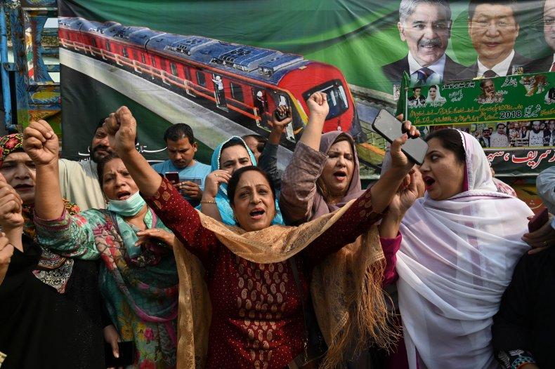 pakistan, china, metro, line, economic, corridor, lahore