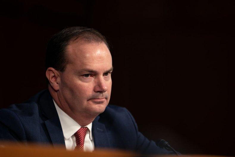Republican Senator Mike Lee of Utah