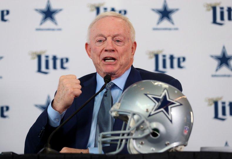 Jerry Jones, Dallas Cowboys