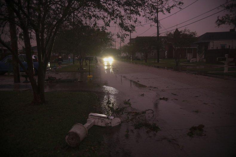 Hurricane Zeta Louisiana October 2020