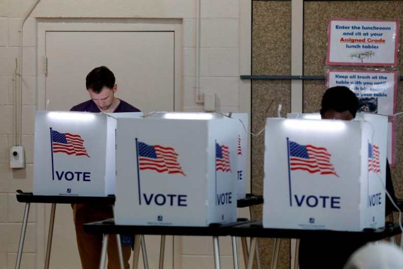 Michigan polling center