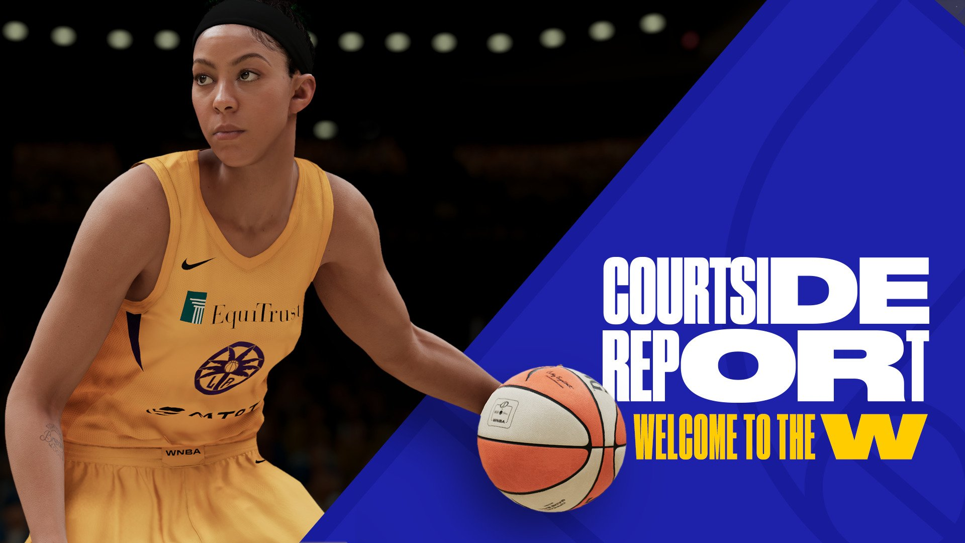 """NBA 2K21"" next-gen MyWNBA and The W Revealed - A WNBA MyCareer mode"