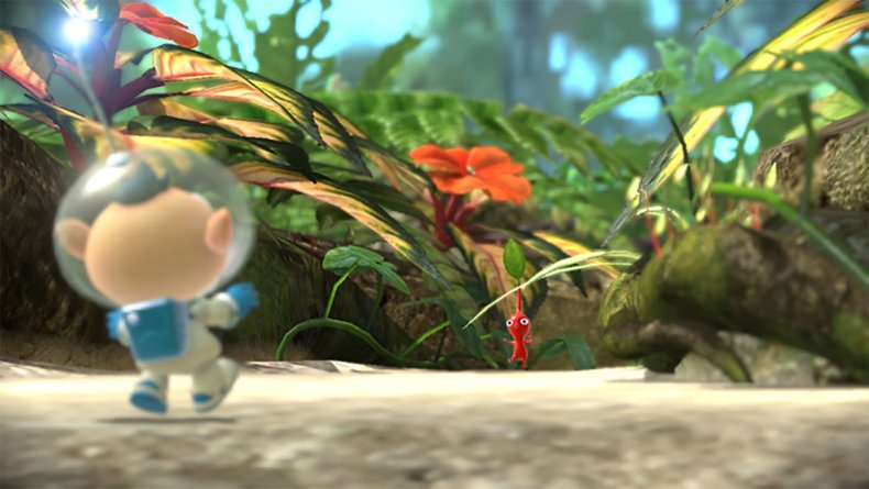 pikmin 3 deluxe nintendo switch screen