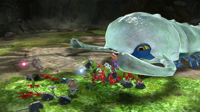 pikmin 3 deluxe boss battle