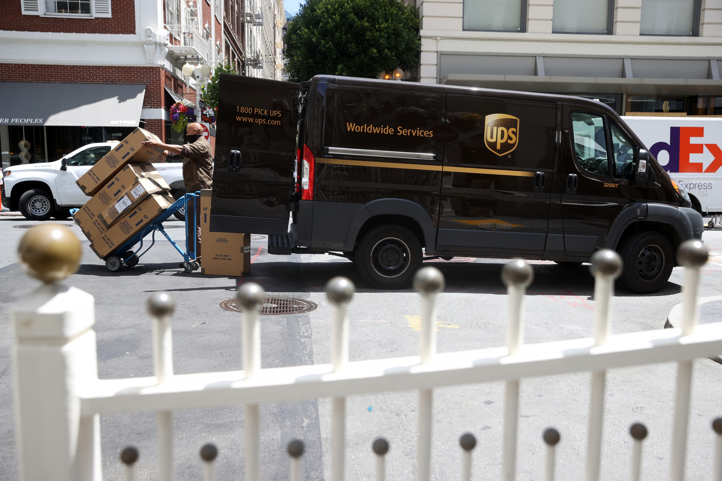 UPS locates contents of Tucker Carlson's package after he said incriminating Biden documents went missing