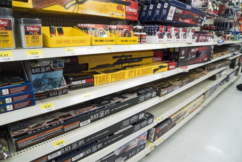 Walmart pulls guns firearms bullets election danger