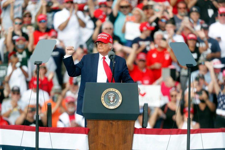 Trump at a Rally in Tampa, Florida