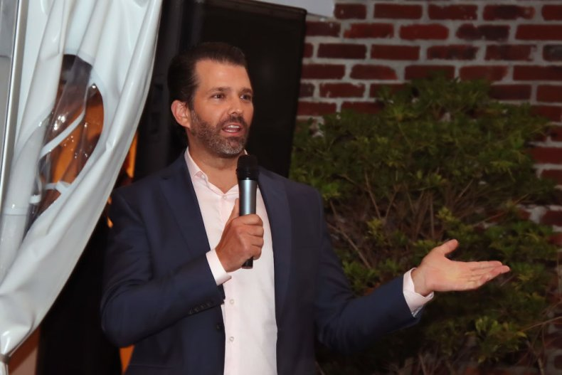 Donald Trump Jr. in New Jersey