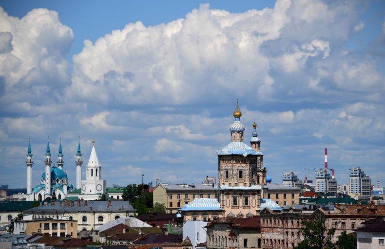 Kazan capital of Tatarstan in Russia