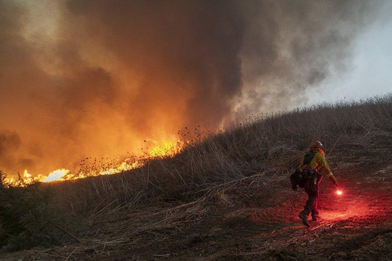 Blue Ridge Fire, California, October 2020