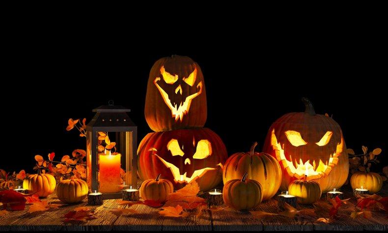 halloween, pumpkins, Jack-o'-lantern, stock, getty