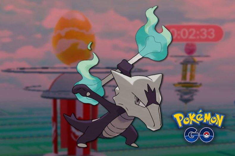 pokemon go alolan marowak raid day