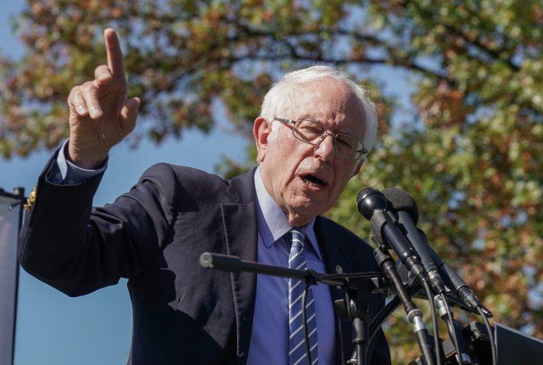 Bernie Sanders 10/22