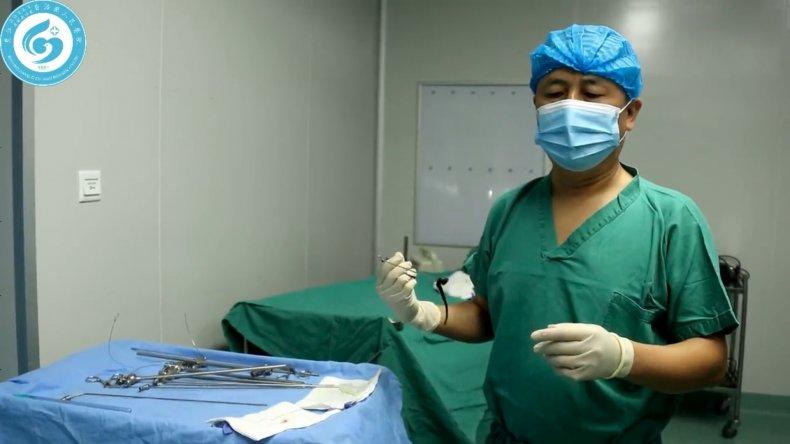 Chinese hospital leeches