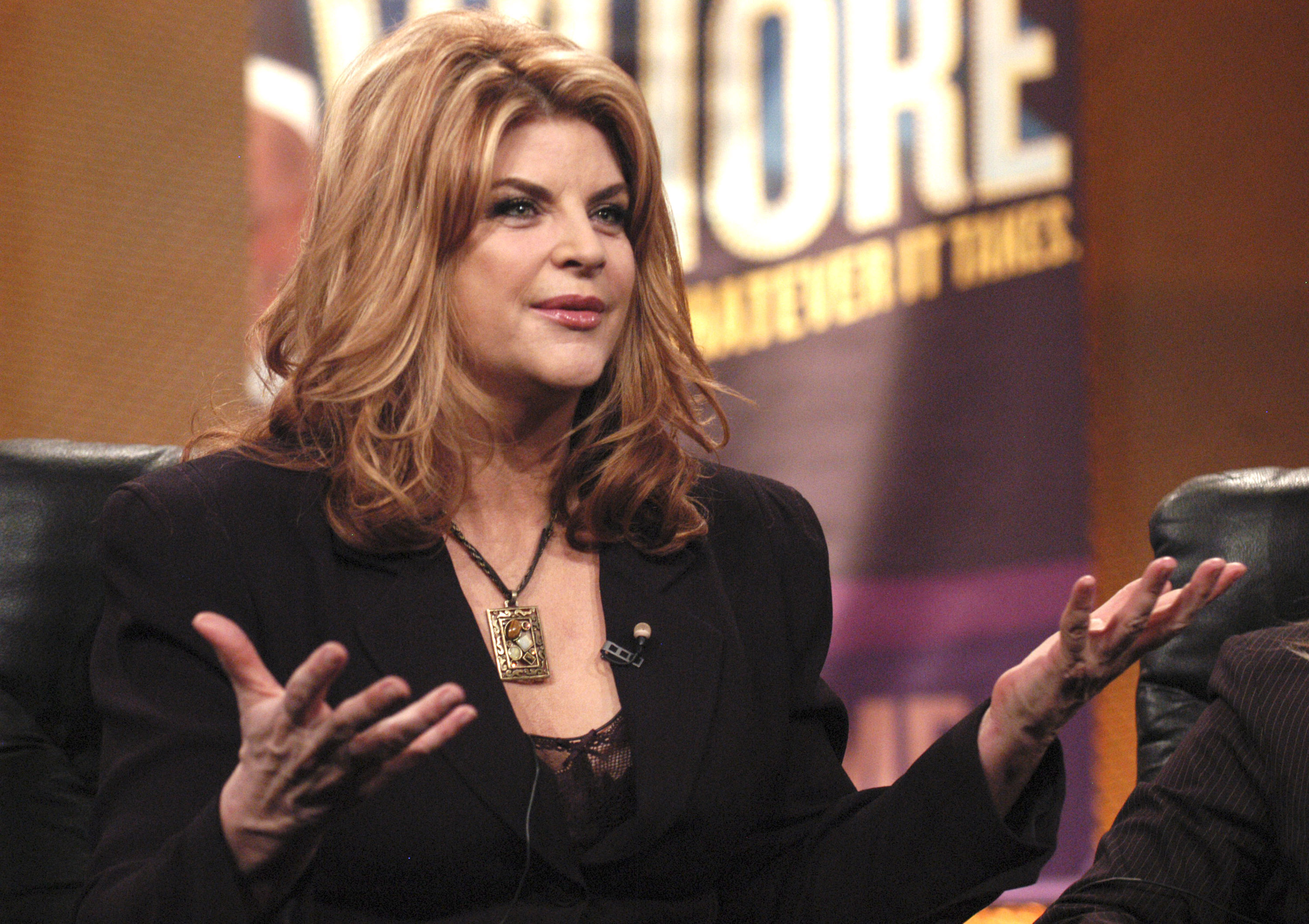"CNN tells Kirstie Alley if she doesn't like them to change the channel—just like her fans did with ""Veronica's Closet"""