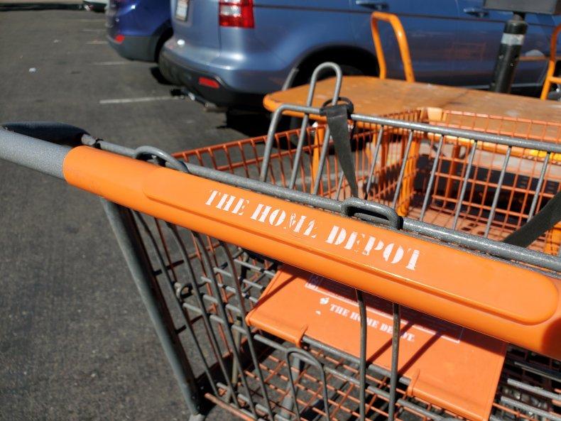 Home Depot Shopping Cart